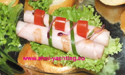 Canapes bei Fingerfood